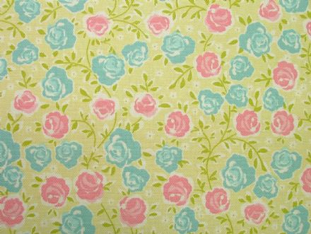 Ashley Wilde Summersdale Lime 100% Cotton Soft Furnishing /  Curtain Fabric